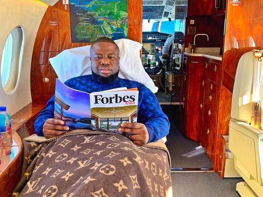 Nigerian Instagram celebrity and scamster Hushpuppi