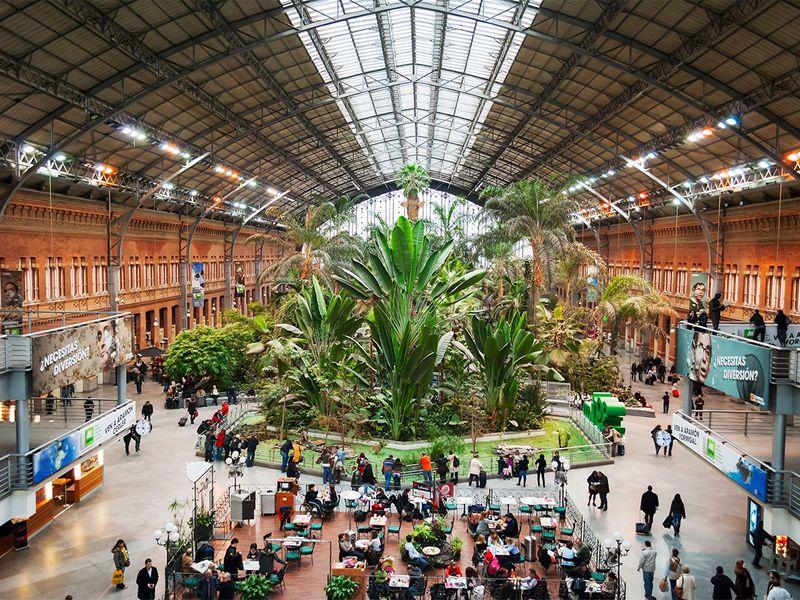 The Madrid Atocha Train Station
