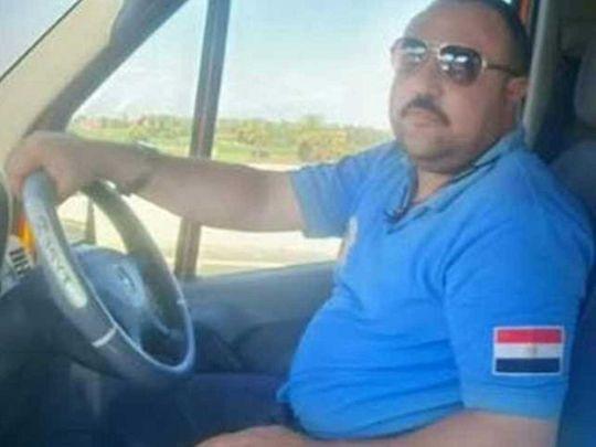 Ahmed Magdi, ambulance driver