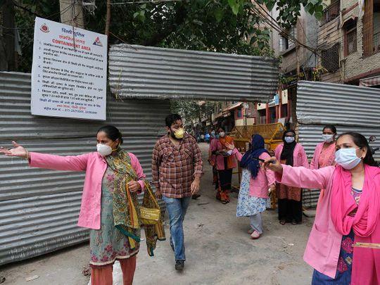 ASHA DELHI workers coronavirus India covid
