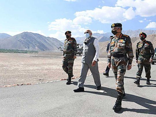 Modi Leh Ladakh