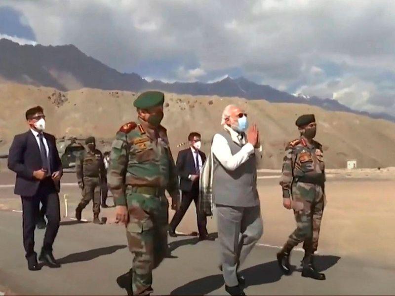 Modi visit