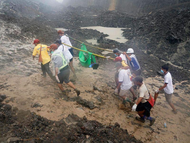 Myanmar landslide