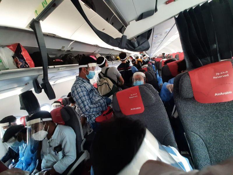 NAT 200703 Sharjah-Bagdogra flight-1593770103183