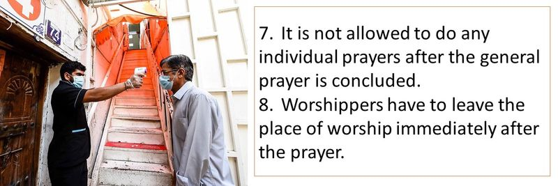 Places of worship reopen guidelines