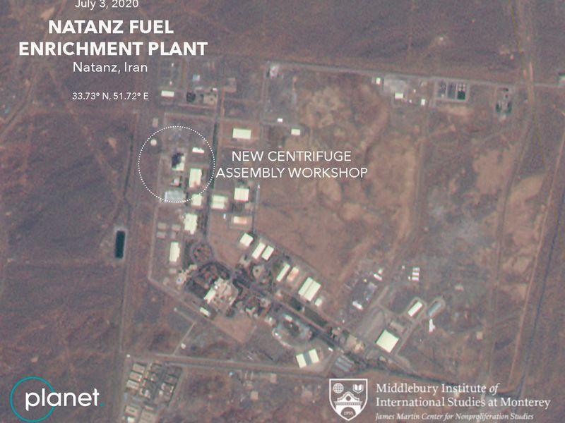 Iran nuclear natanz