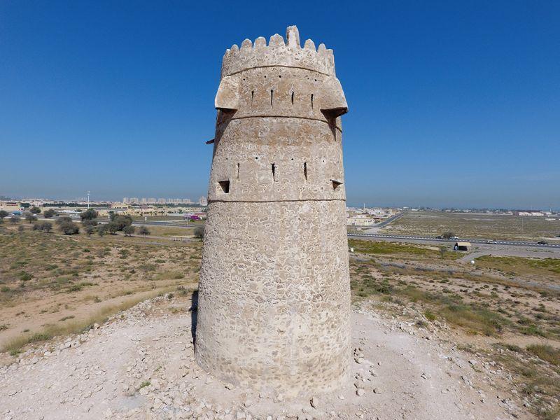 NAT Al Jazirah Al Hamra watchtower-1593855992756