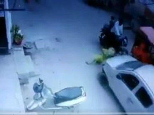 Run over in Delhi