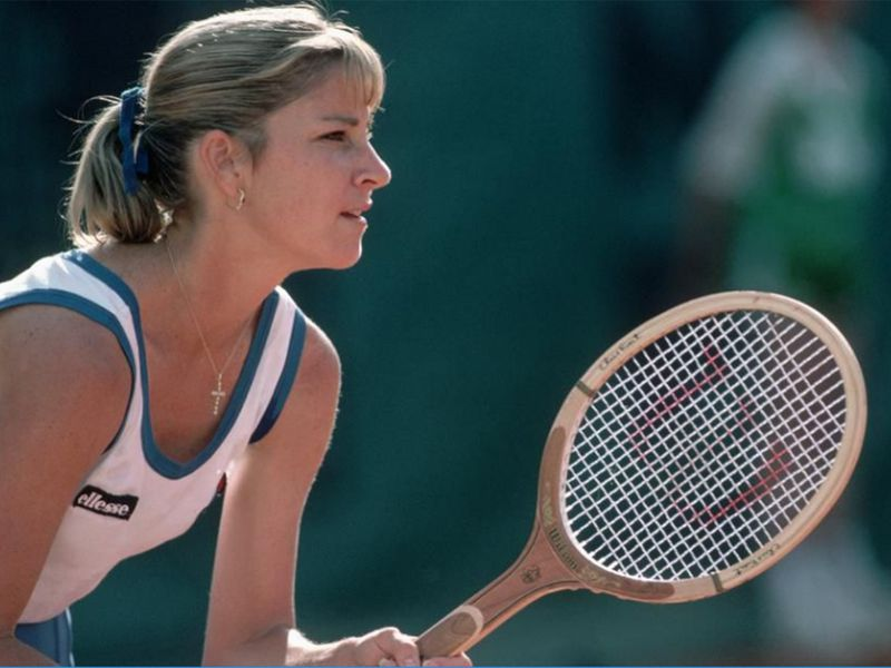 Chris Evert won Wimbledon three times in the 1970s and 1980s