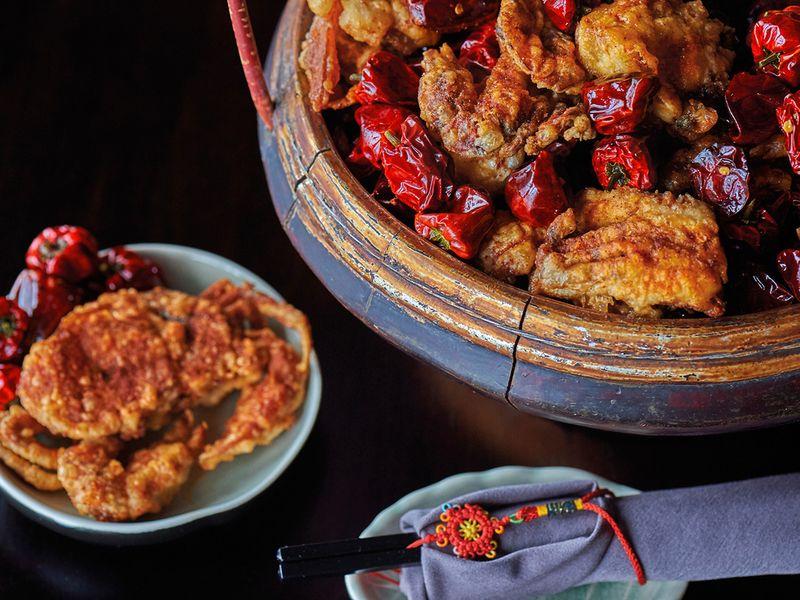 Hutong Dubai red lantern
