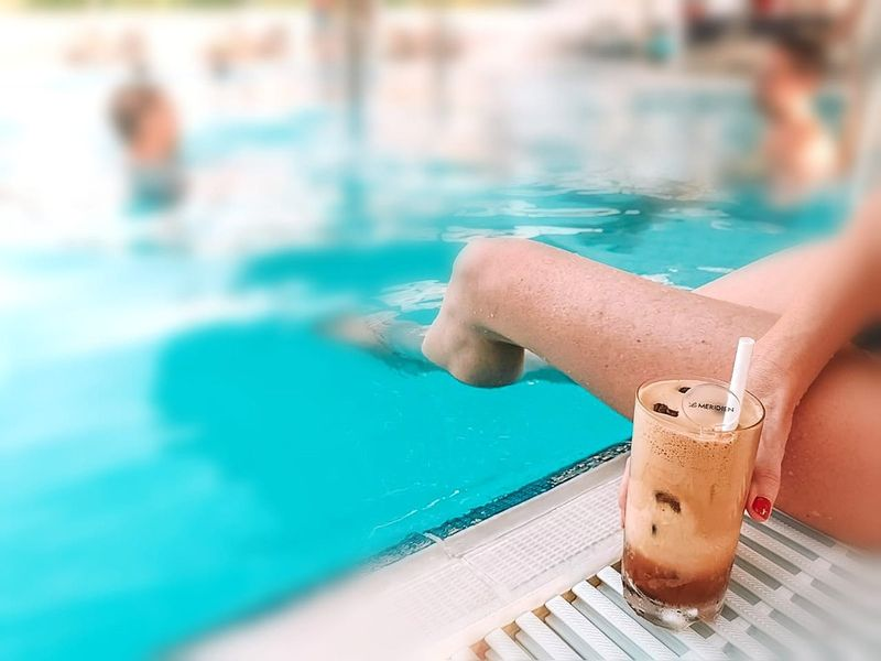 Le meridien Dubai ladies pool day