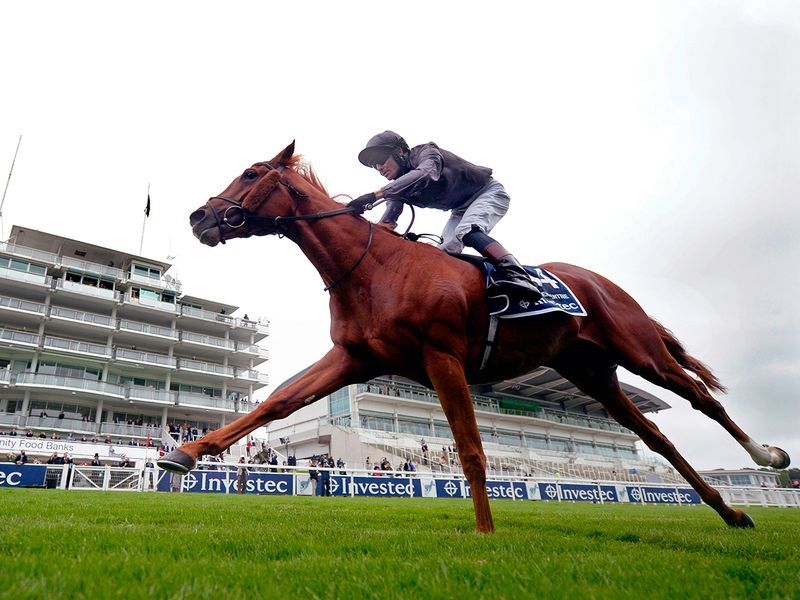 Race 4, Investec Oaks (Group 1, 1m 4f) - Irish-trained Love wins