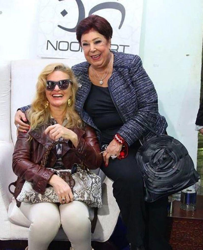 Ragaa El Geddawy with Youssra