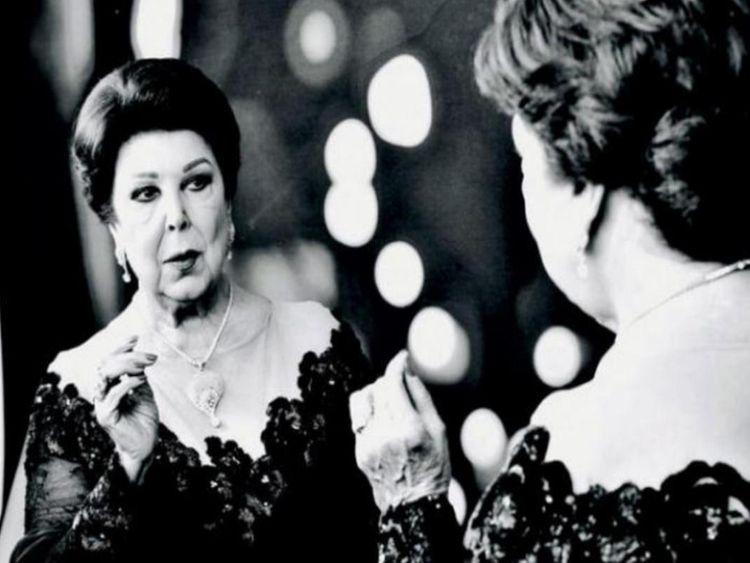 Ragaa El Geddawy Arab World Mourns Princess Of Egyptian Art Arab Celebs Gulf News