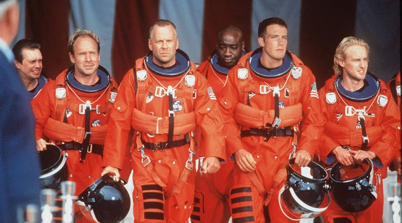 The cast of Armageddon