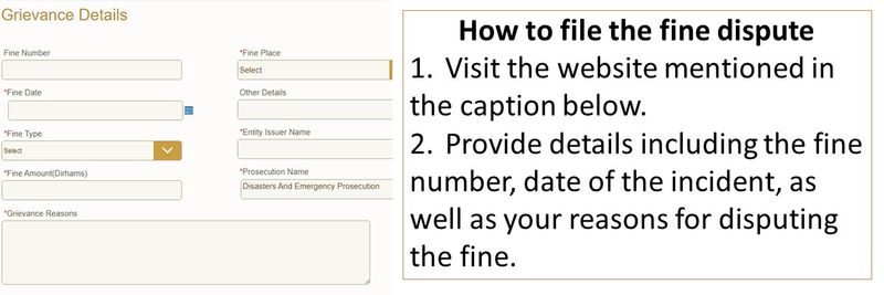 how to contest a COVID-19 fine