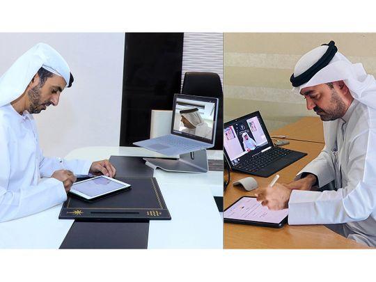 Amlak and Dubai Land Departments