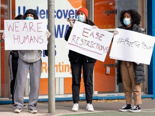 Australia Melbourne lockdown coronavirus