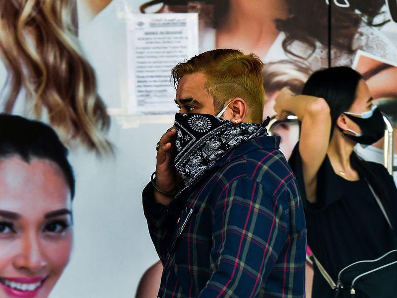 Dubai mask