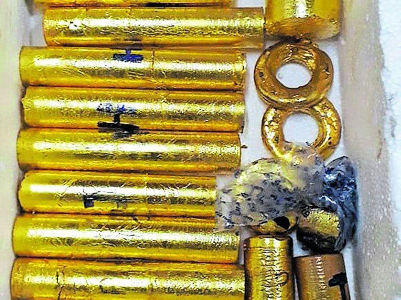 Gold smuggled weighed up to 30-kg