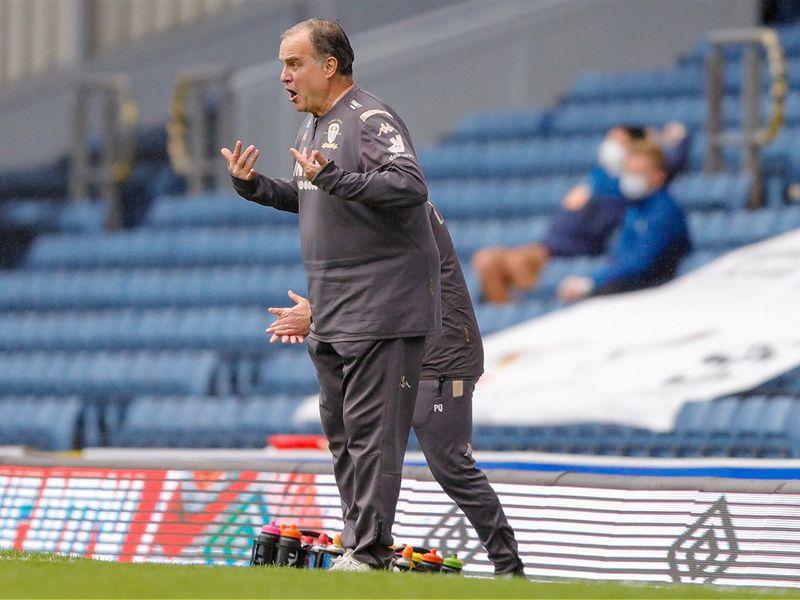 Leeds United boss Marcos Bielsa