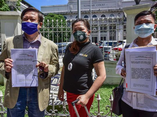 Mel Sta. Maria Philippines terrorism law Duterte
