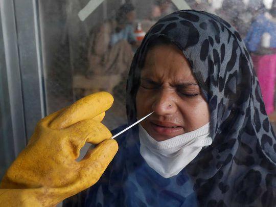 Nose swab paramedic pakistan