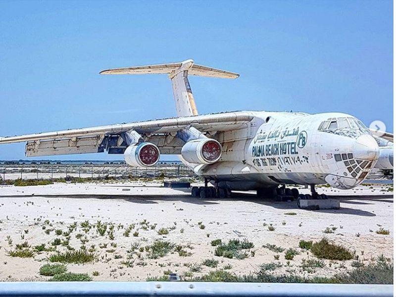 Abandoned russian aircraft in Um Al Quwain