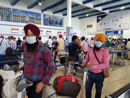Chandigarh repatriation flight leaves from Ras Al Khaimah