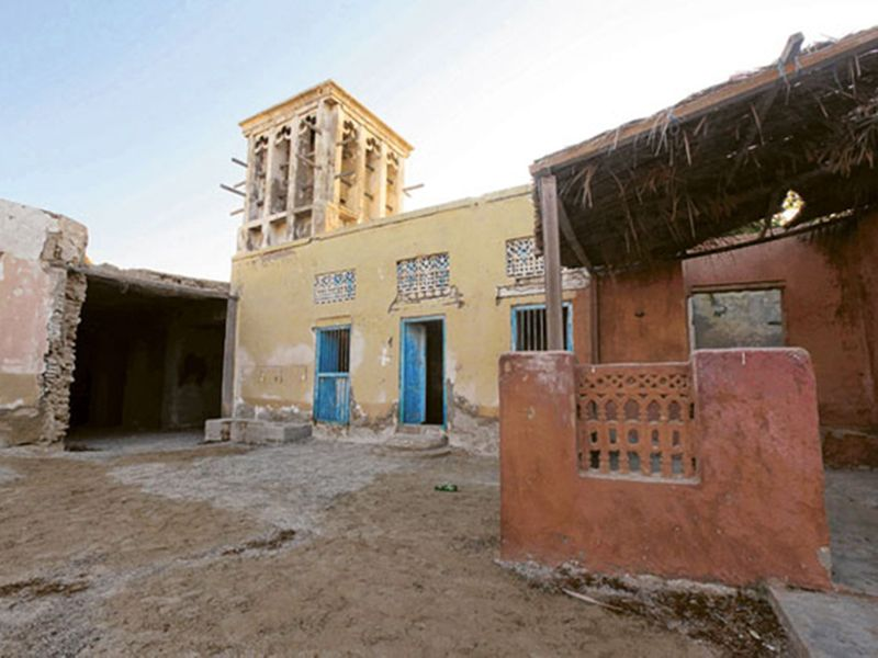 Jazirat Al Hamra in RAK