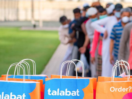 Talabat reaches 140,000 delivery donations