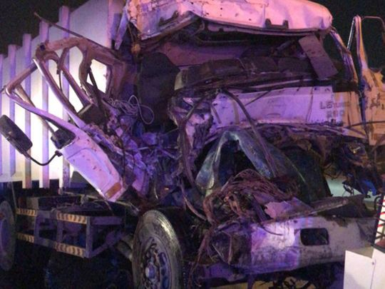 Two dead, five injured in Dubai traffic accident