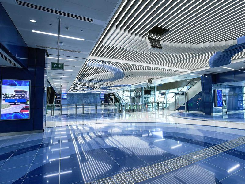 20200708 Dubai Metro extension