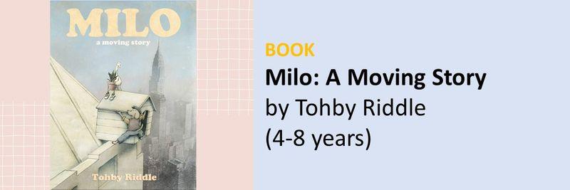 BC Books movies for UAE kids leaving Milo
