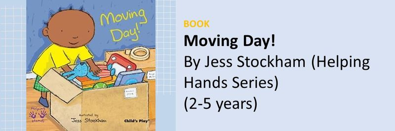 BC Books movies for UAE kids leaving moving day