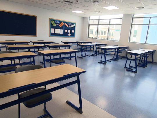 How a Dubai school prepares to re-open
