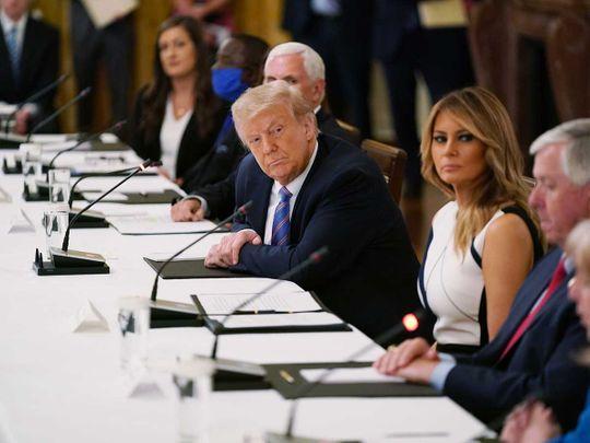 Trump schools Melania