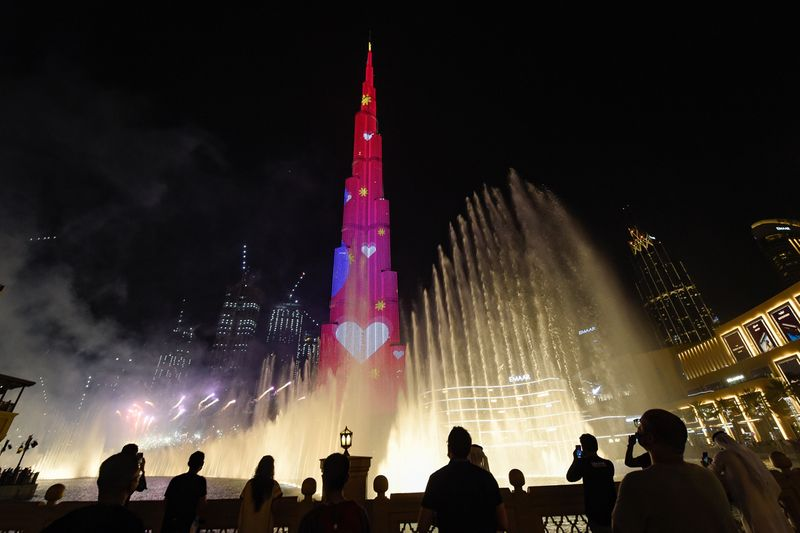 Dubai Summer Surprises official opening ceremony at Burj Khalifa