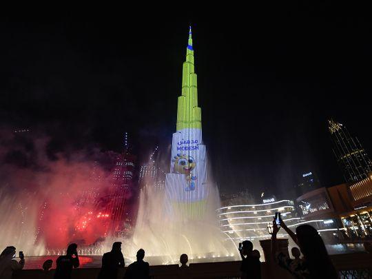 Dubai Summer Surprises official opening ceremony at Burj Khalifa