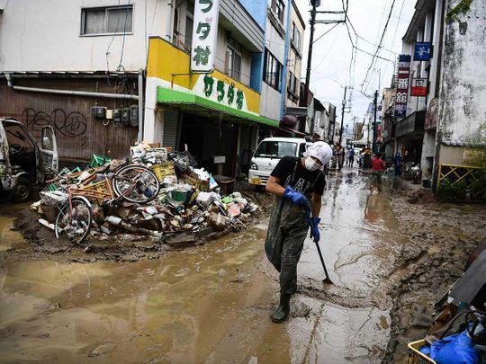 Japan flood Kumamoto