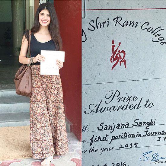 Sanjana Sanghi college