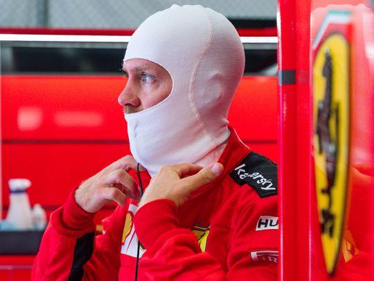 Sebastian Vettel had a bad day at the Austrian Grand Prix