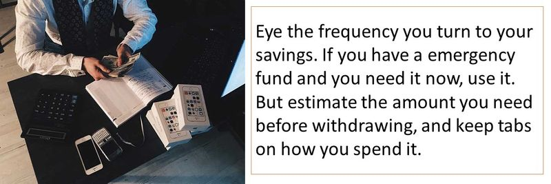What not to do when saving money in a crisis!