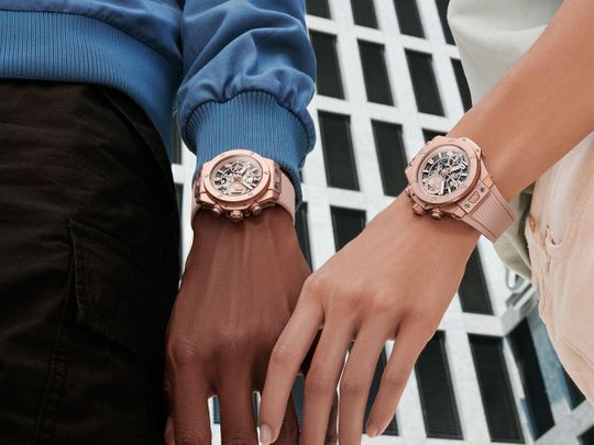 Pretty in pink! Hublot launches 'gender fluid' Big Bang Millennial Pink