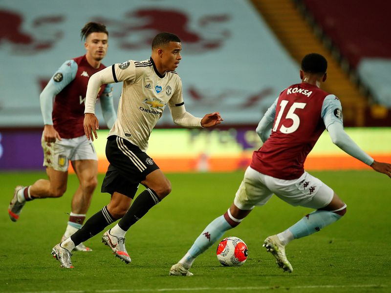 Greenwood was on the scoresheet once again against Aston Villa on Thursday