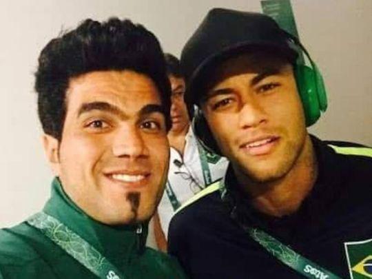 Karrar Ibrahim the former Iraq U-23 goalkeeper