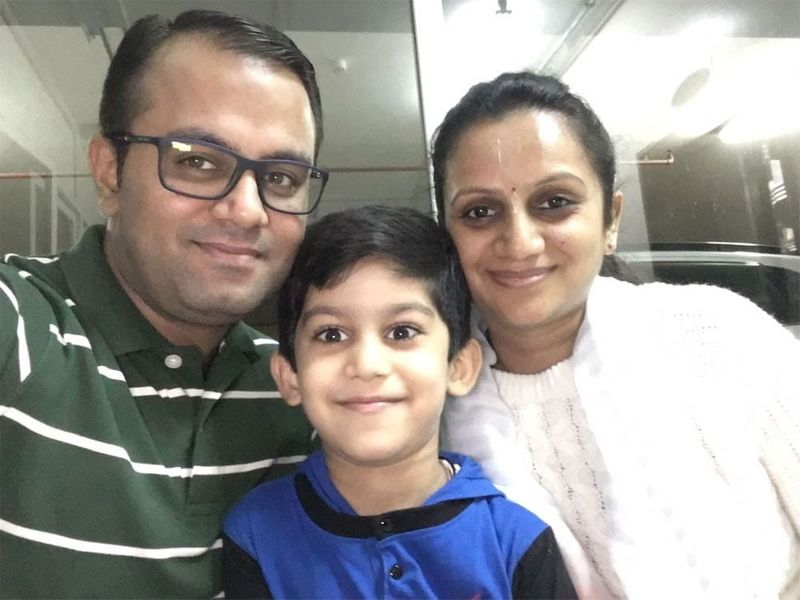 Khusboo and family