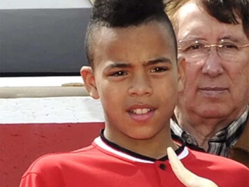 Mason Greenwood has been at the Manchester United academy since he was a young kid