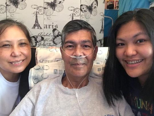 How an entire Filipina family, struck by COVID-19, coped in the UAE