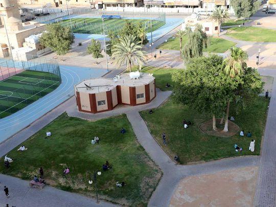 Saudi park